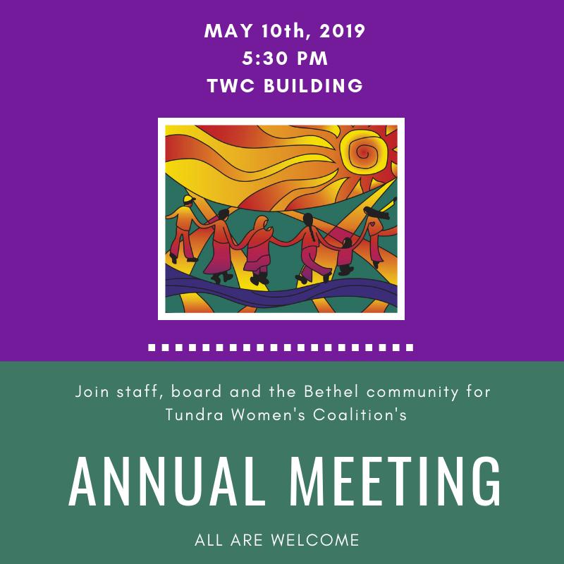2019 Annual Meeting – Tundra Women's Coalition – Crisis Line