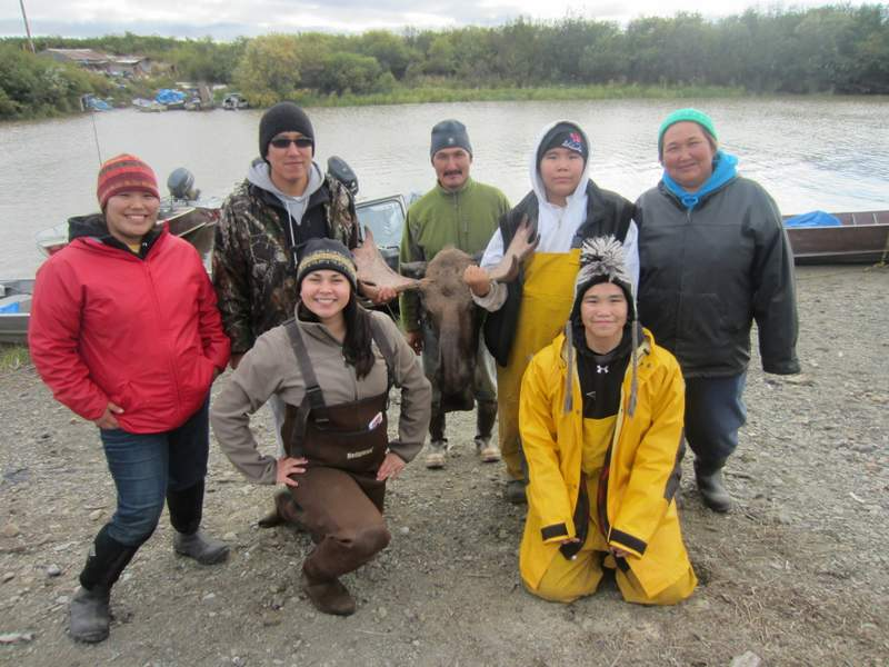 TAAV on their Moose Hunt